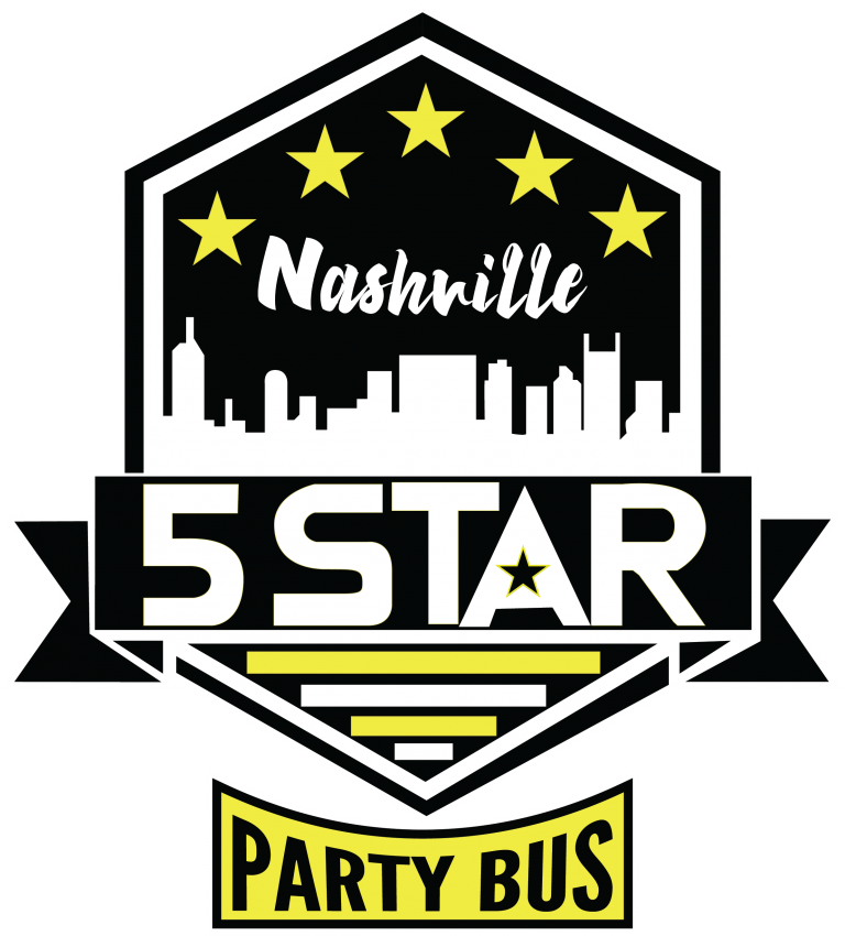Nashville 5 star Party Bus tours
